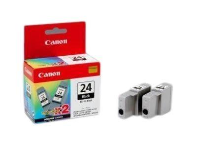 Canon Tinte schwarz 2er-Pack für S300, BCI-24BK(2)