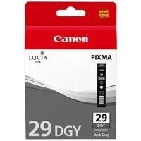 Canon Tintenpatrone dunkelgrau PGI-29DGY, 4870B001