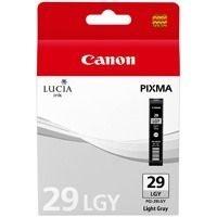 Canon Tintenpatrone hellgrau PGI-29LGY, 4872B001