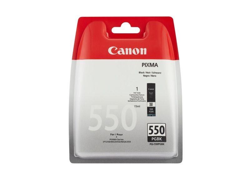 Canon Tintenpatrone schwarz PGI-550PGBK, 6496B001