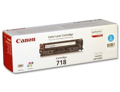 Canon Toner cyan, Cartridge Nr. 718 für LBP7200