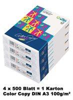 Color Copy Papier DIN A3, 100g/qm - Karton