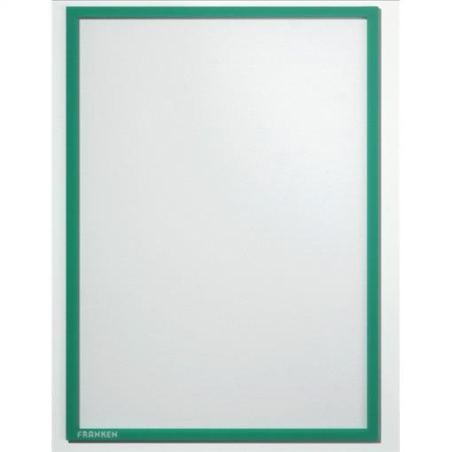 Dokumentenhalter, Hartfolie, 0,32 mm, matt, A4, 230 x 317 mm, grün
