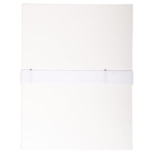 Dokumentenmappe mit Balacroneinband, mit Klettverschlussband, 24x32cm für DIN A4