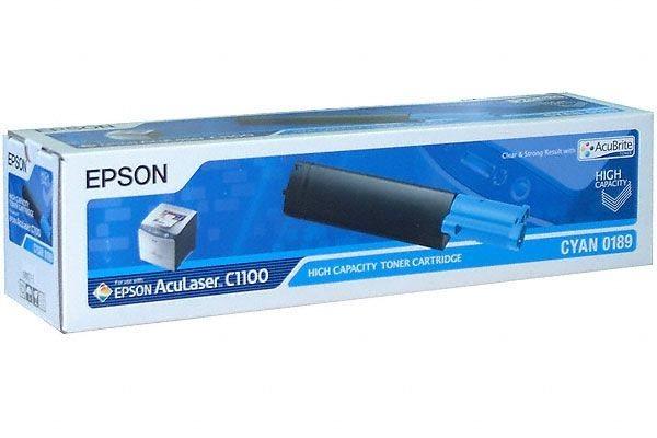 EPSON AcuBrite Toner für AcuLaser C1100/N, cyan