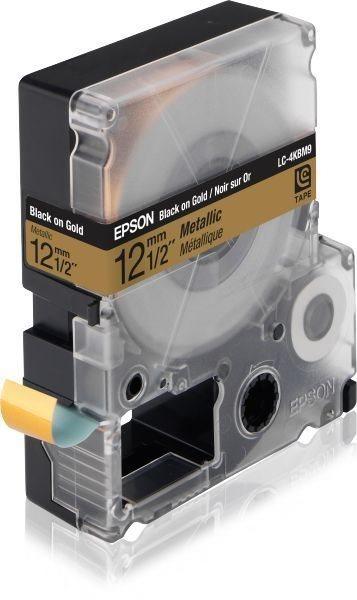Epson Etikettenkassette Metallic - C53S625415