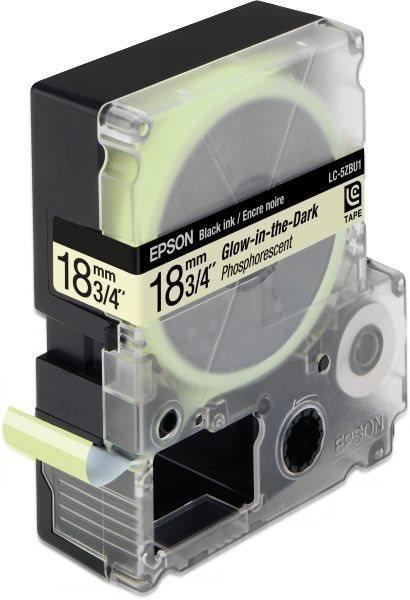 Epson Etikettenkassette mit im Dunkeln leuchtendem