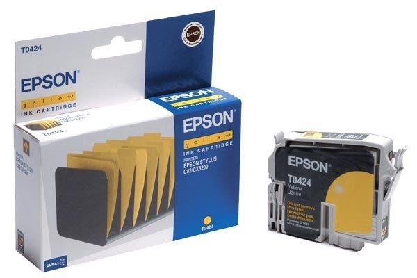 EPSON Farbtintenpatrone für Stylus C82, yellow
