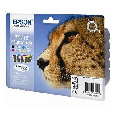 Epson Multipack BK/C/M/Y für D78, T07154010