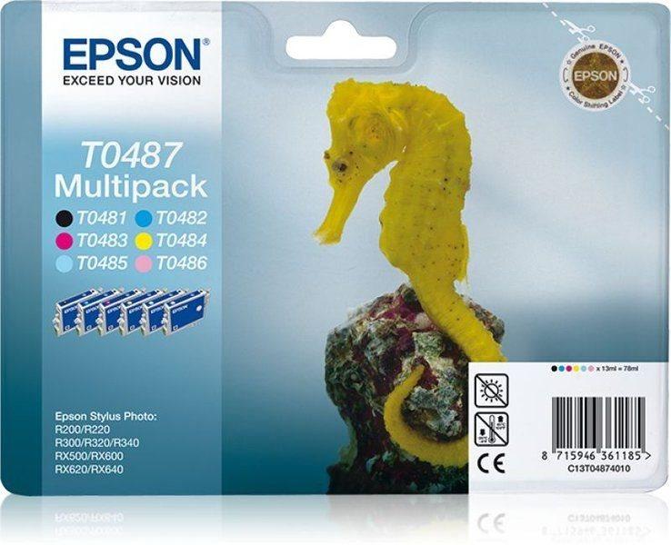 Epson Multipack T0487 - 6er-Pack