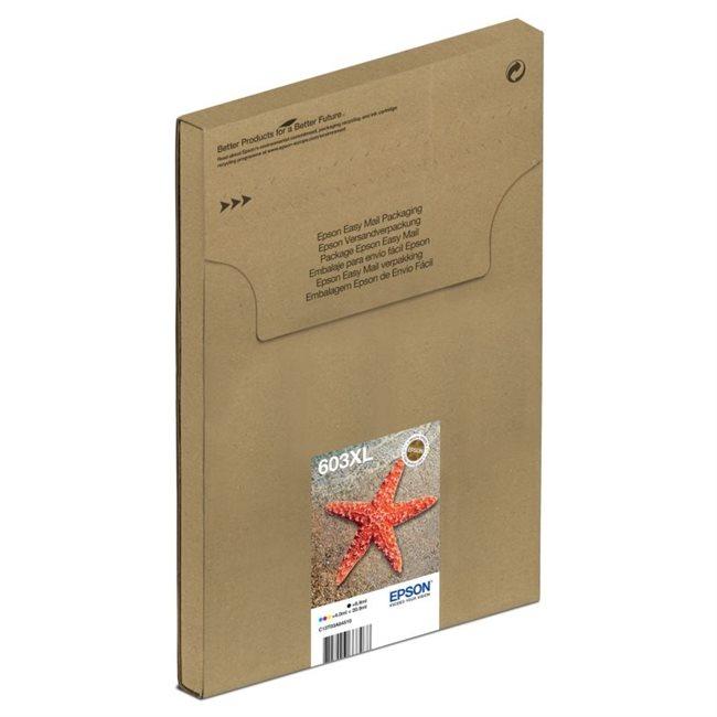 Epson Origina XL Tinte 4er Multipack BKCMY - Easy Mail 603XL - C13T03A64510