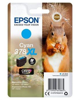 Epson Original - HC Tinte cyan -  C13T37924010