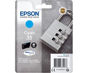 Epson Original - Tinte 35 cyan -  C13T35824010