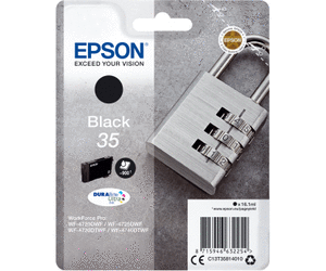 Epson Original - Tinte 35 schwarz -  C13T35814010