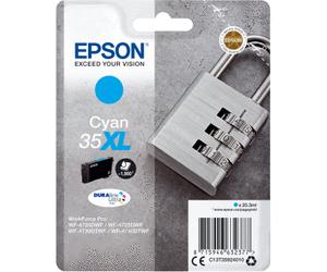 Epson Original - Tinte 35XL cyan -  C13T35924010