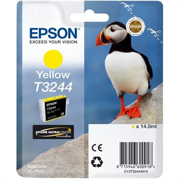 Epson Original - Tinte T3244 gelb -  C13T32444010