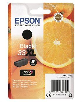 Epson Original - Tinte XL schwarz - 33 Claria