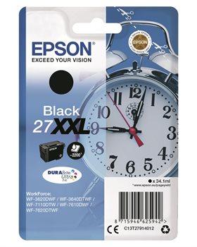 Epson Original - Tinte XXL schwarz - 27 DURABrite