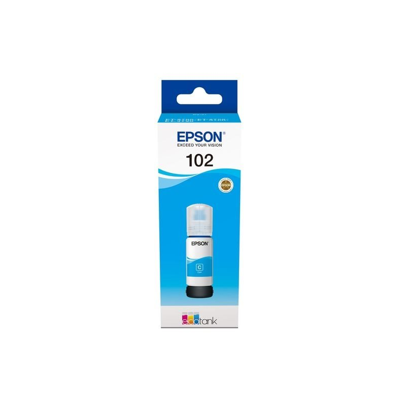 Epson Original 102 - Tinte cyan -  C13T03R240