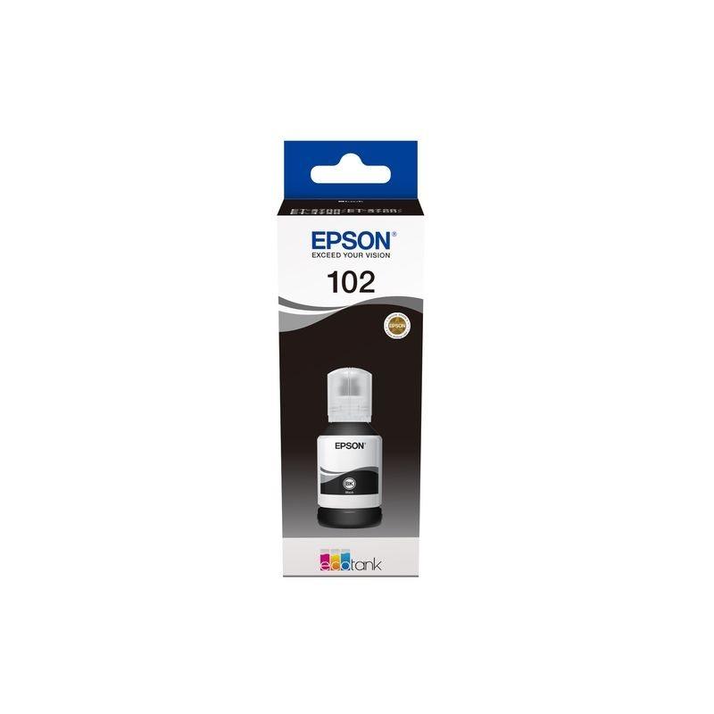 Epson Original 102 - Tinte schwarz -  C13T03R140