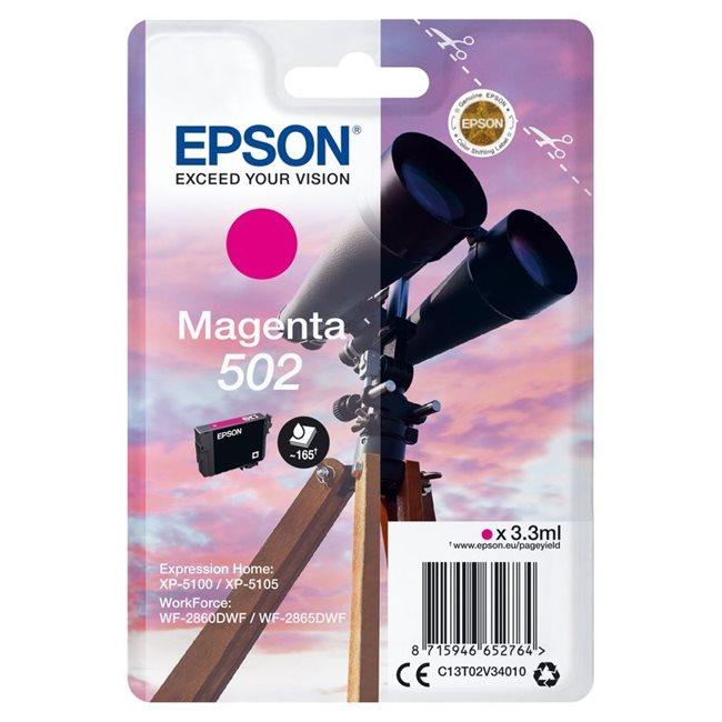 Epson Original 502 Tinte magenta - C13T02V34010