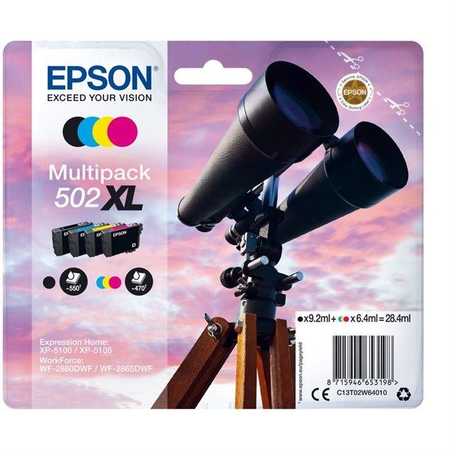 Epson Original 502XL Tinte 4er Multipack bkcmy - C13T02W64010