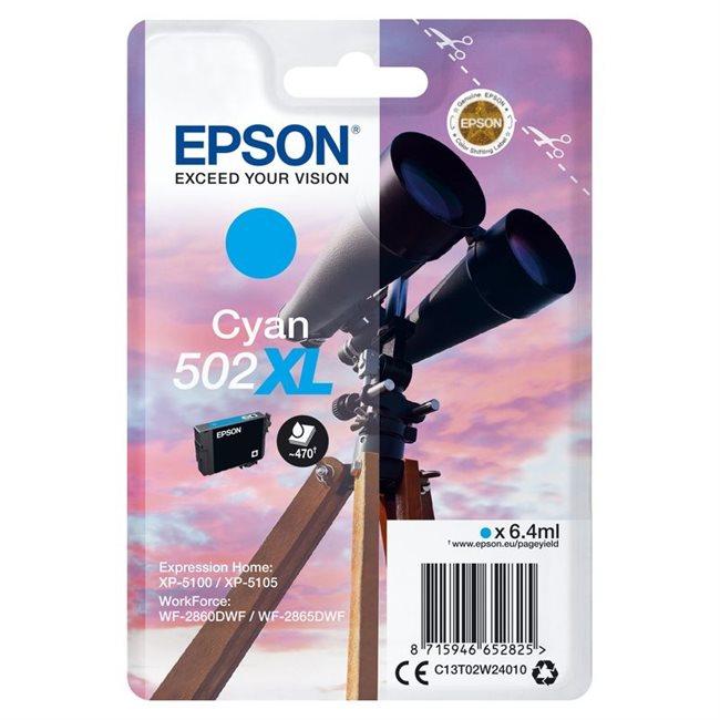 Epson Original 502XL Tinte cyan - C13T02W24010