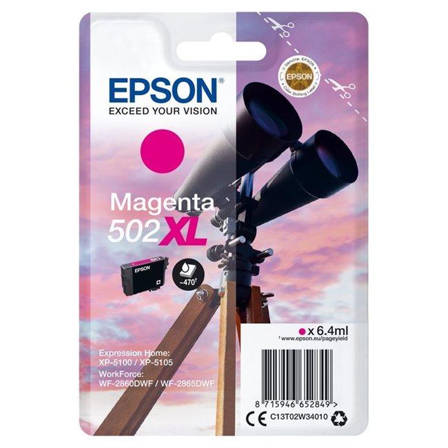 Epson Original 502XL Tinte magenta - C13T02W34010