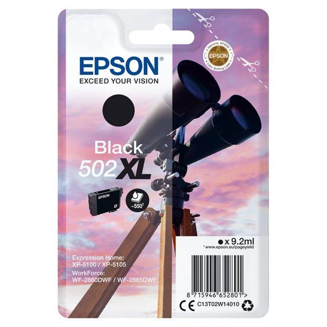 Epson Original 502XL Tinte schwarz - C13T02W14010