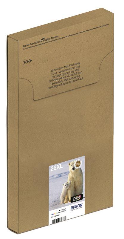 Epson Original Multipack BK/C/M/Y 26XL EasyMail - C13T26364511