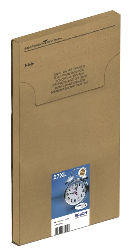 Epson Original Multipack C/M/Y 27 Ultra Ink EasyMail - C13T27054510