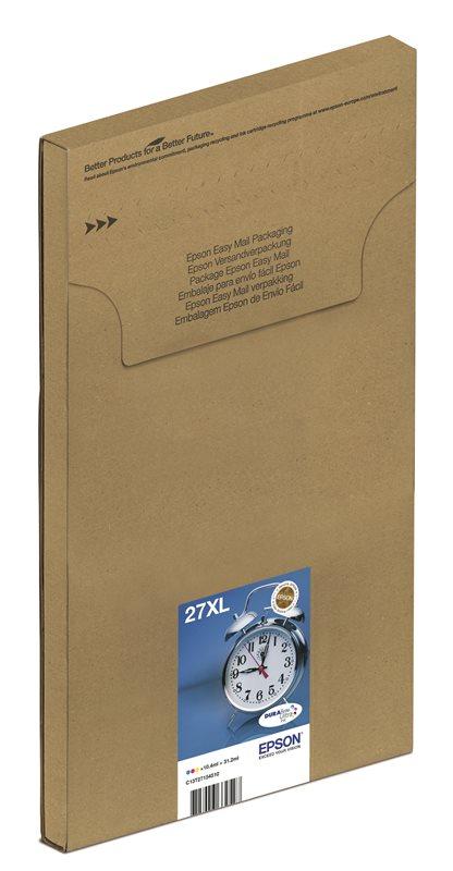 Epson Original Multipack C/M/Y 27XL Ultra Ink EasyMail - C13T27154510