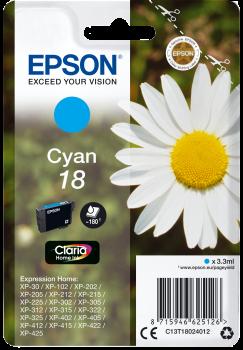 Epson Original Tinte 18 cyan - C13T18024012