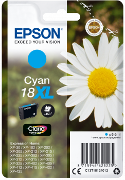 Epson Original Tinte 18XL cyan - C13T18124012