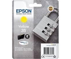 Epson Original - Tinte 35 gelb -  C13T35844010