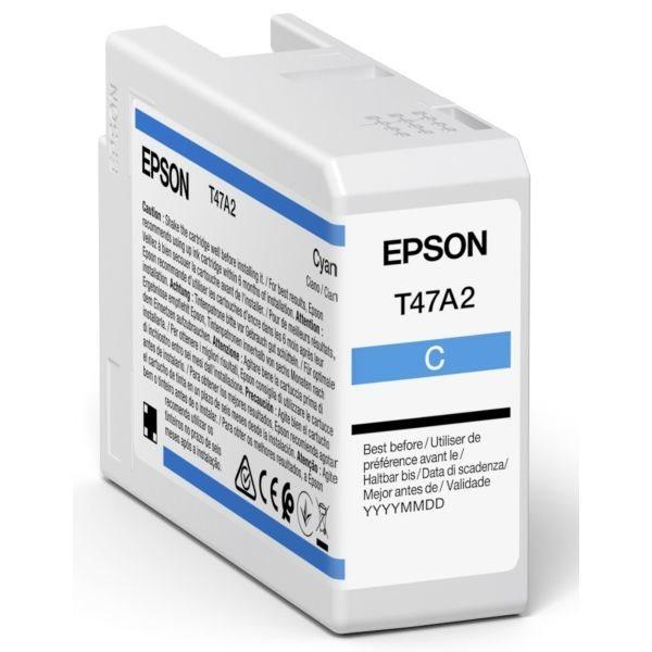 Epson Original Tinte Cyan T47A2 - C13T47A200