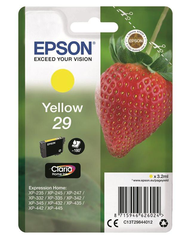 Epson Original - Tinte gelb - 29 Claria