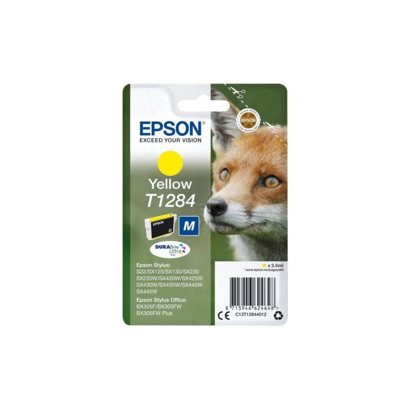 Epson Original Tinte gelb T1284 - C13T12844012