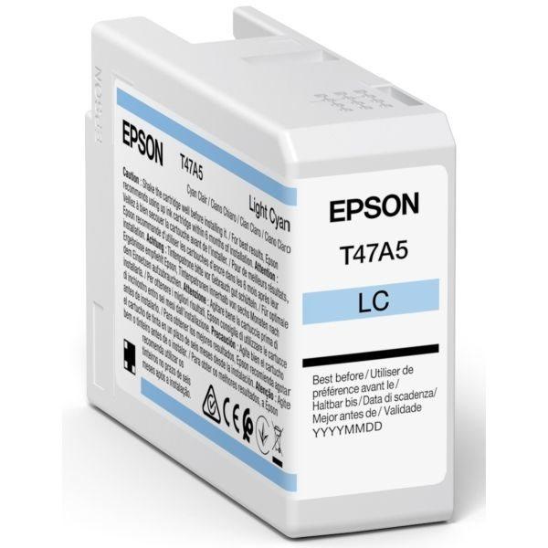 Epson Original Tinte Light Cyan T47A5 - C13T47A500