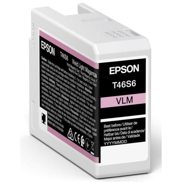 Epson Original Tinte Light Magenta T46S6 - C13T46S600