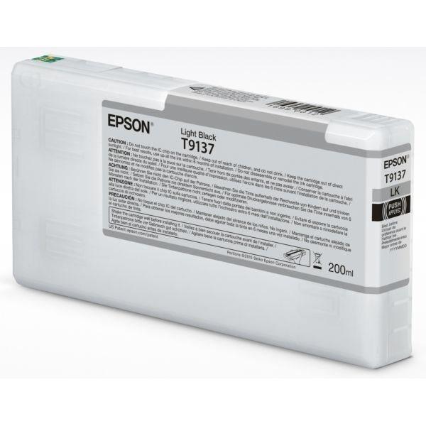 Epson Original Tinte light schwarz T9137 - C13T913700