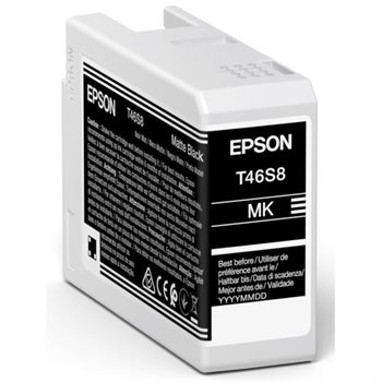 Epson Original Tinte Matt Schwarz T46S8 - C13T46S800