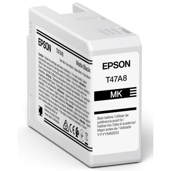 Epson Original Tinte Matt Schwarz T47A8 - C13T47A800