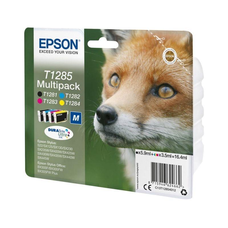 Epson Original Tinte Multipack bk/c/m/y T1285 - C13T12854012