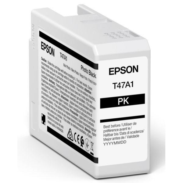 Epson Original Tinte Photo Schwarz T47A1 - C13T47A100