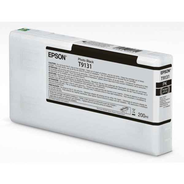 Epson Original Tinte photo schwarz T9131 - C13T913100
