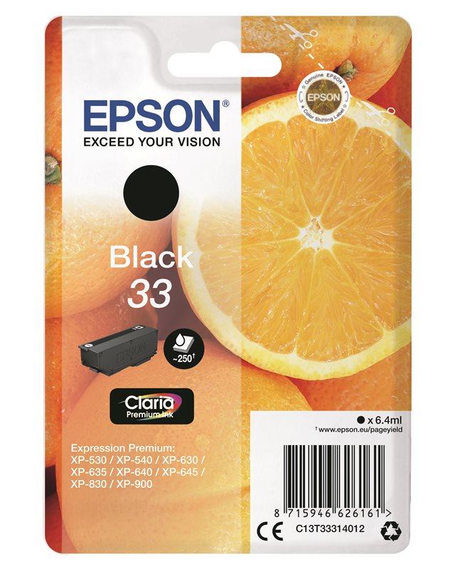 Epson Original - Tinte schwarz - 33 Claria
