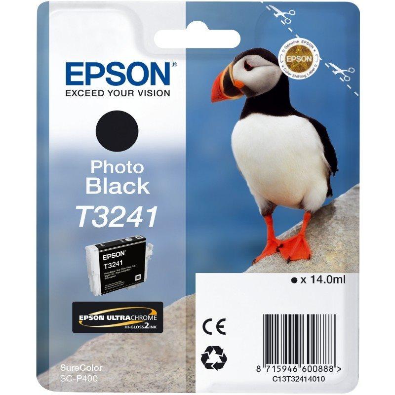 Epson Original - Tinte T3241 photo schwarz