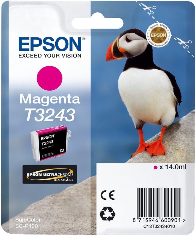 Epson Original - Tinte T3243 magenta