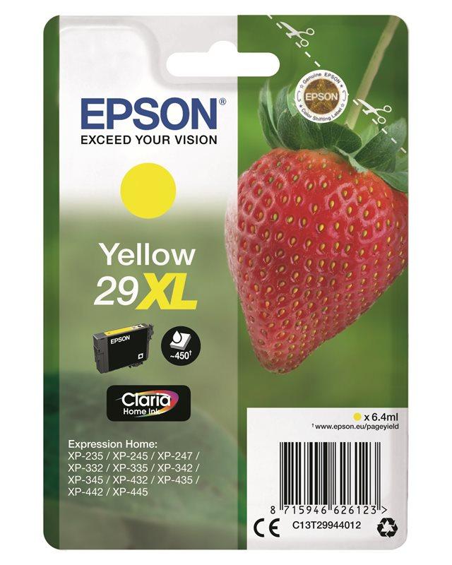 Epson Original - Tinte XL gelb - 29 Claria